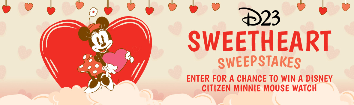 D23 Minnie Mouse Sweetheart Sweepstakes
