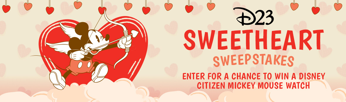 D23 Mickey Mouse Sweetheart Sweepstakes