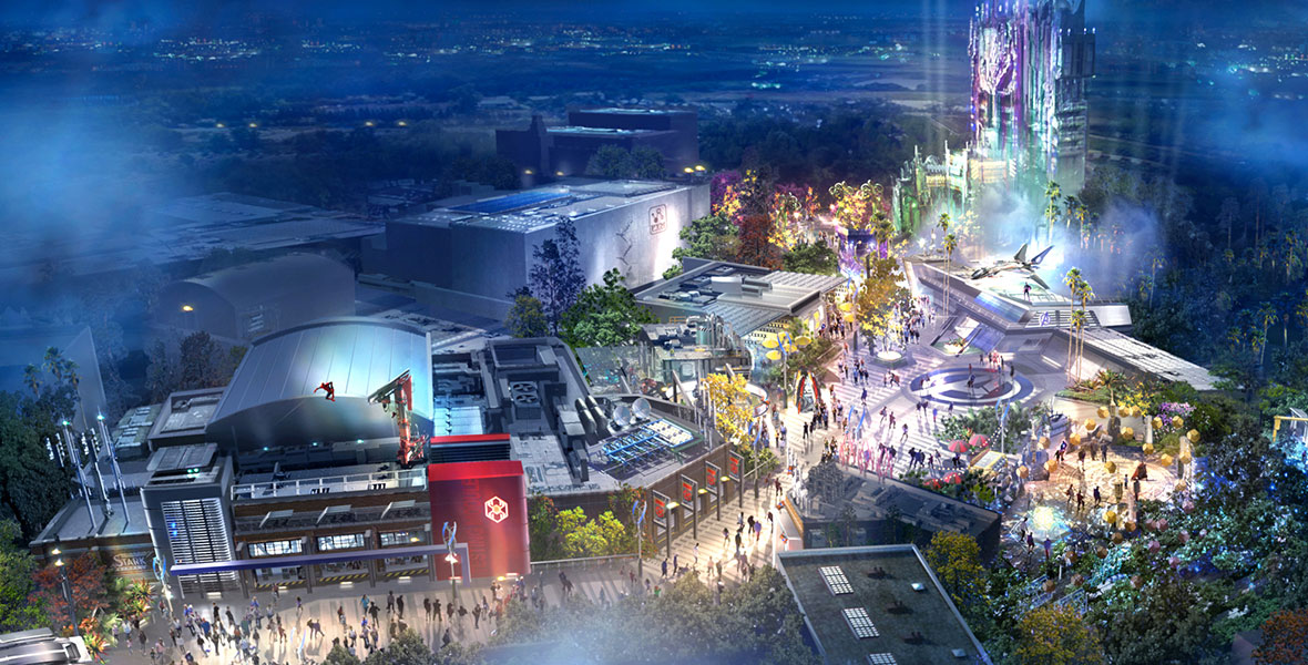 Everything We Know About Avengers Campus At Disneyland Resort D23