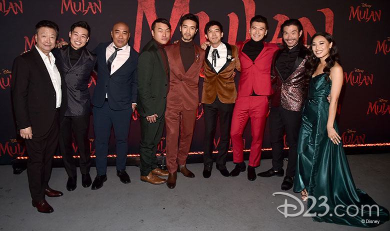 The World Premiere Of Mulan Celebrates A Timeless Tale D23