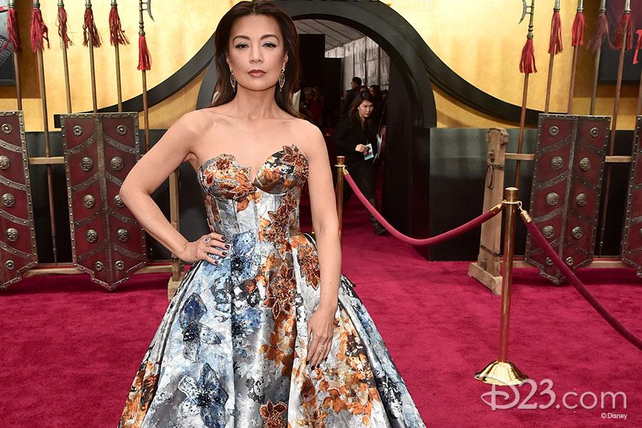 Disney Legend Ming-Na Wen (Voice of Mulan, 1998)