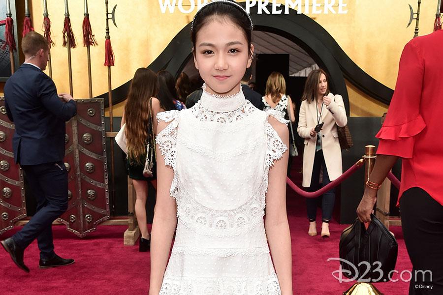 Crystal Rao (Young Mulan)