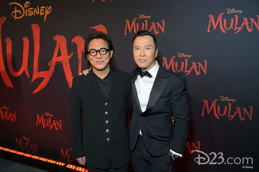 Jet Li (The Emperor) and Donnie Yen (Commander Tung)