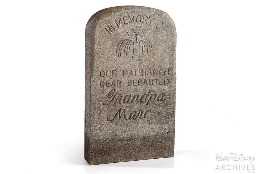 """Grandpa Marc"" for Imagineer Marc Davis"
