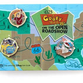 This D23-Exclusive A Goofy Movie Pin Set Takes You on the Open Road!