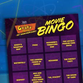 a goofy movie bingo