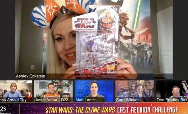 Star Wars: The Clone Wars Cast Shows off Their Favorite Star Wars Memorabilia!