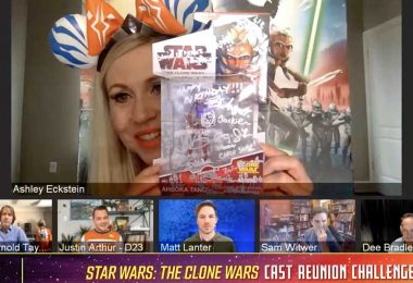 Star Wars: The Clone Wars Cast Shows off Their Favorite Star Wars Memorabilia!