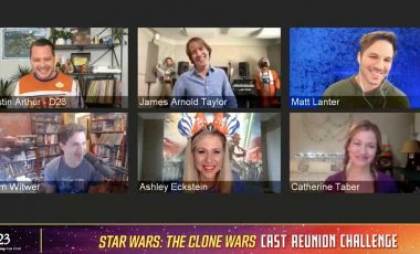 Name the Real Star Wars Character with the Cast of Star Wars: The Clone Wars