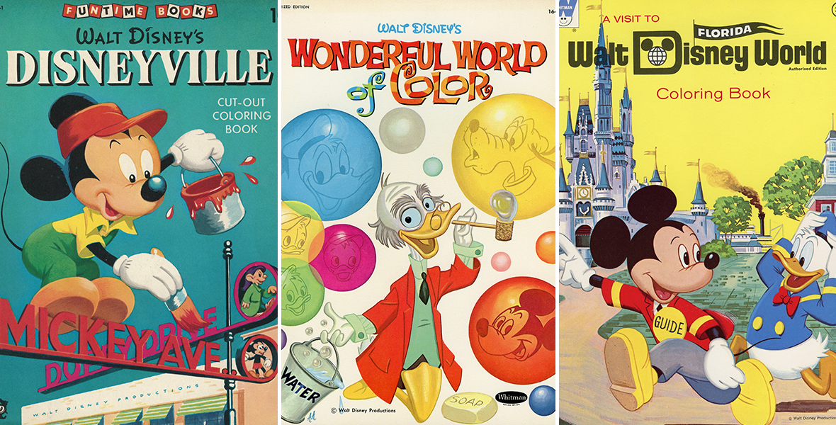 - Coloring Books From The Walt Disney Archives - D23
