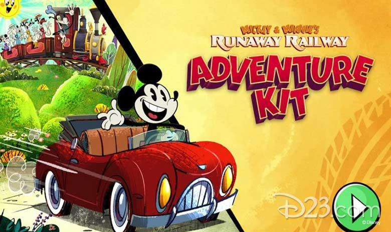 mickey & minnie adventure kit