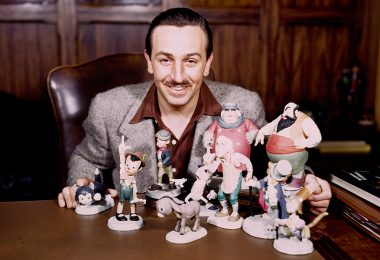 Walt with animator models