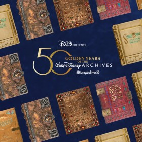 DOWNLOADABLE: These Phone Wallpapers Celebrate the Walt Disney Archives' Incredible Collection