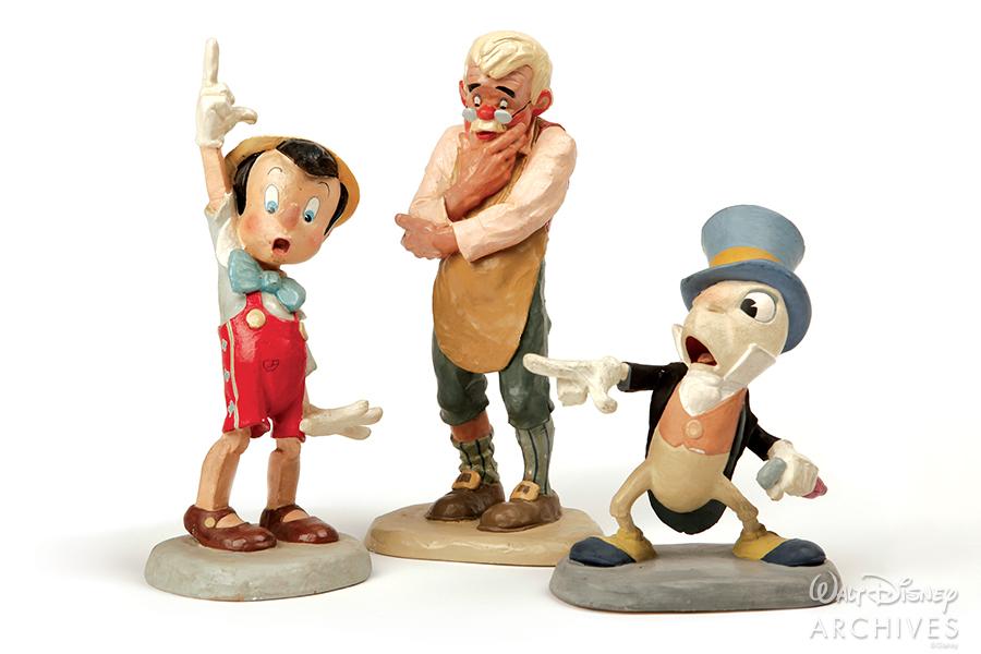 Pinocchio animator models