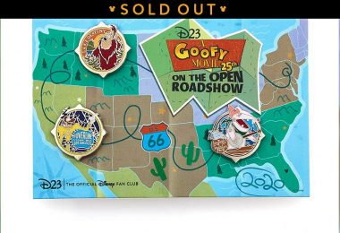 goofy movie pin set sold out