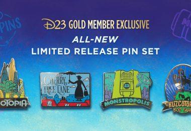 fantastic worlds pin set