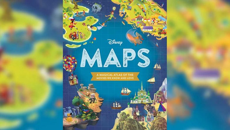 disney maps book