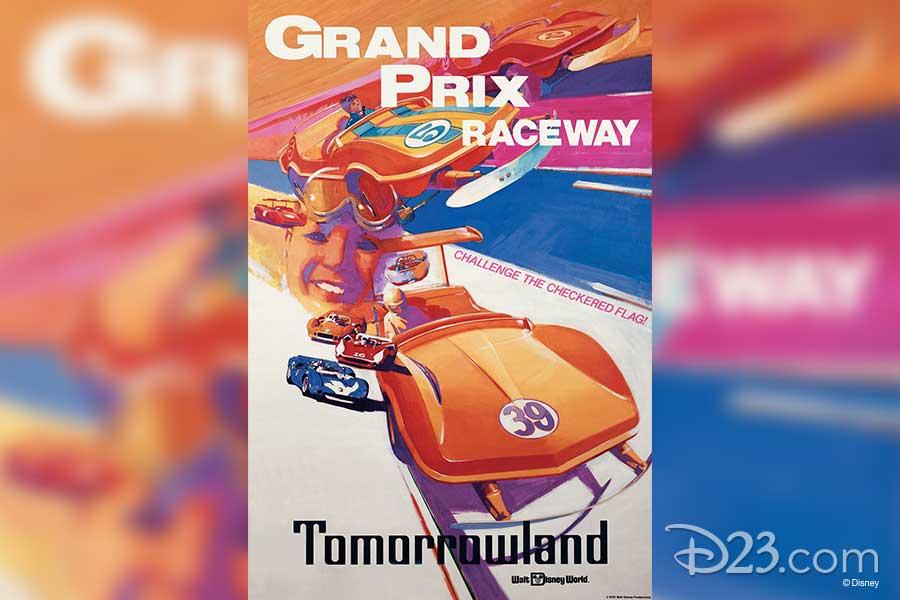 Grand Prix raceway poster