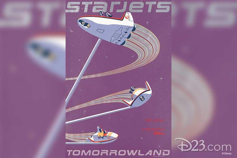 Starjets Poster