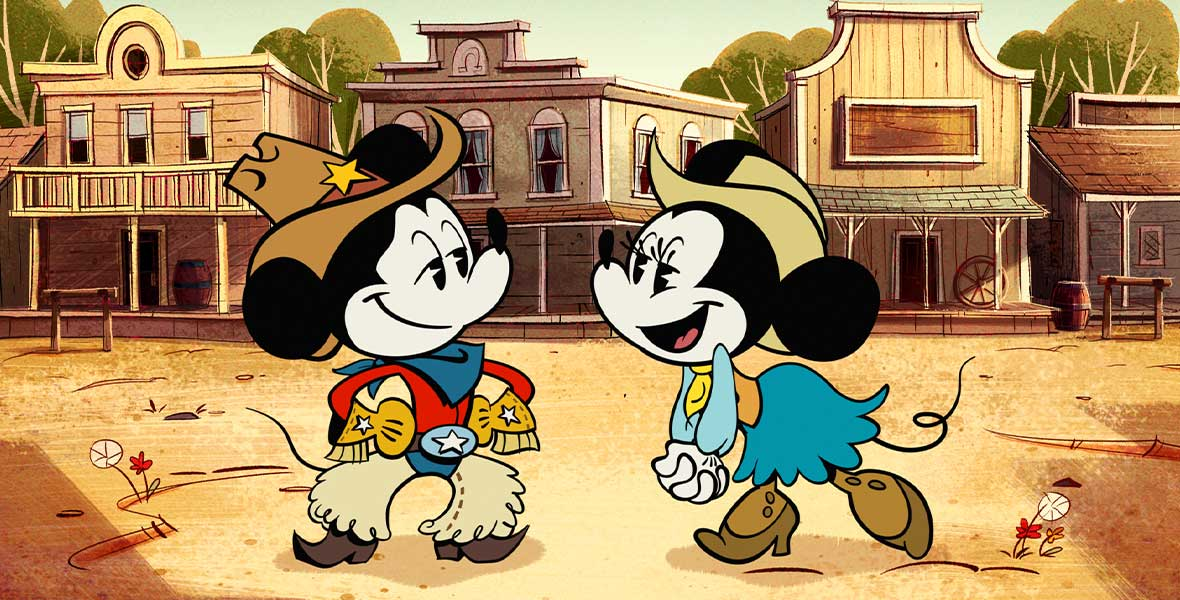 Screenshot for scene from The Wonderful World of Mickey Mouse.