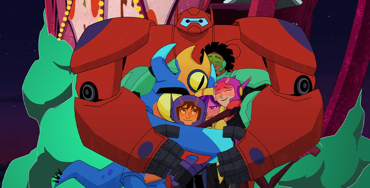 Everything You Need To Know About Big Hero 6 The Series Brand New Season D23