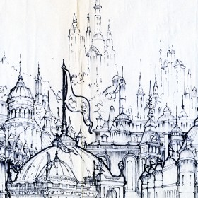 Behind the Emerald Curtain: Concept Art from Disney's Return to Oz