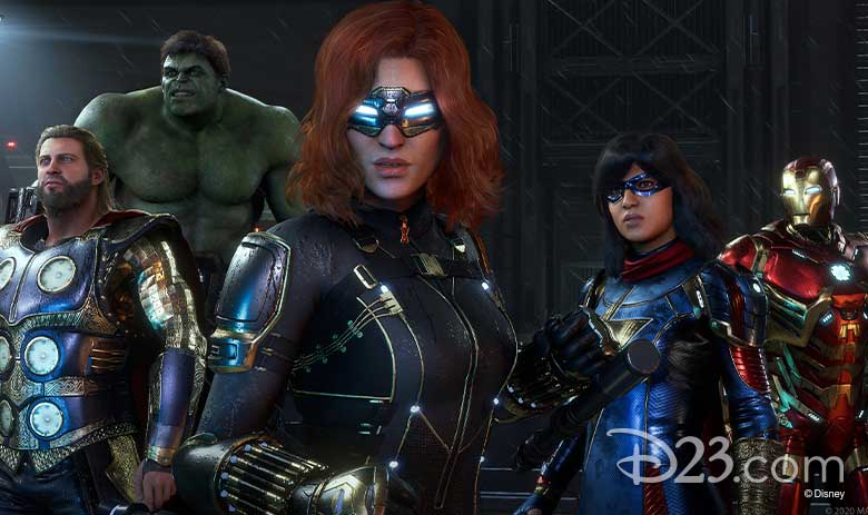 marvel's avengers video game