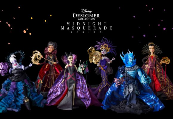 JUST ANNOUNCED: Disney Designer Collection Midnight Masquerade Series Limited-Edition Doll Set – Villains Available for D23 Gold Member-Exclusive Pre-Order
