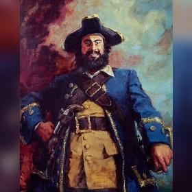 Kree Kruh Vergo Gebba Kalto Kree: Conjuring a Portrait of Captain Blackbeard