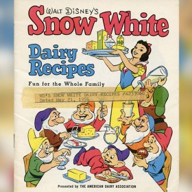 Walt Disney's Snow White Dairy Recipes