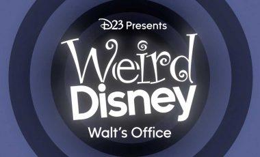 Let's Get Weird with Weird Disney: Walt's Office