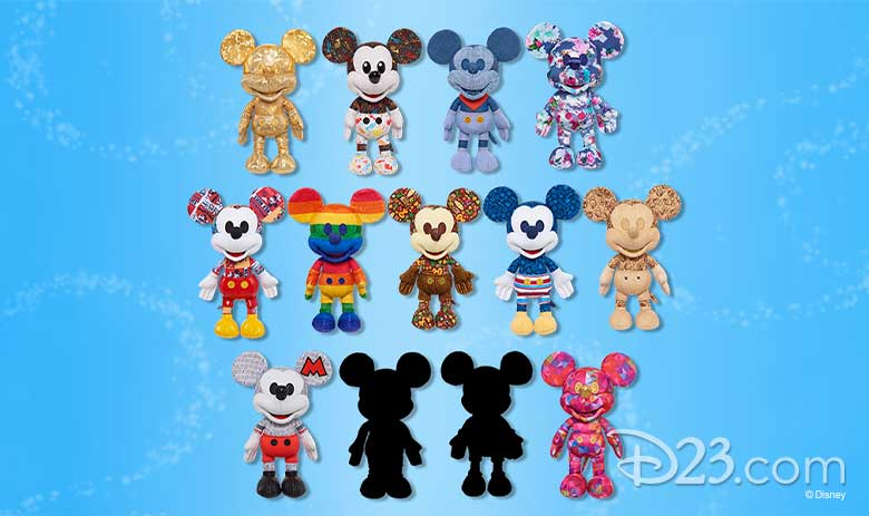 Shouldn't this be? Mickey Mouse Collector Small Plush Set