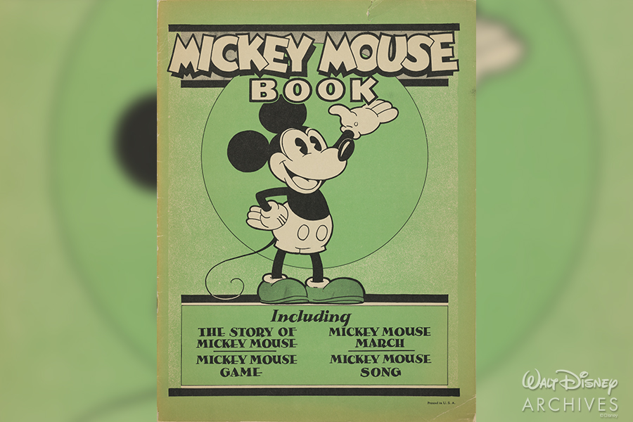 Mickey Mouse Book