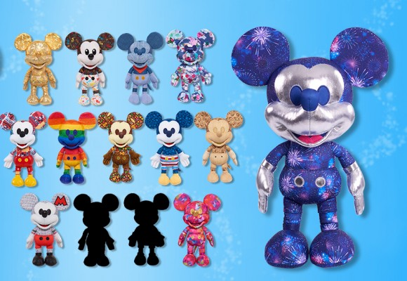 D23 Amazon Mickey Plush Surprise Release!