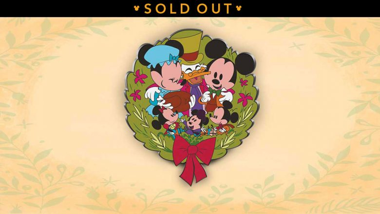 Mickey's Christmas Carol Pin