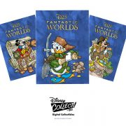 Free D23 Gold Member Exclusive Fantastic Worlds – Adventure Series pack now available for redemption!