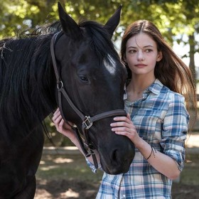 Mackenzie Foy Reveals how the Disney+ Original Black Beauty—and the Film's Equine Cast—Changed her Life