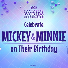 Celebrate Mickey & Minnie on Their Birthday
