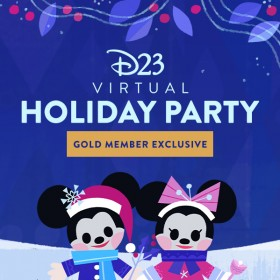 Holiday Magic at the Disney Parks—D23 Virtual Holiday Party