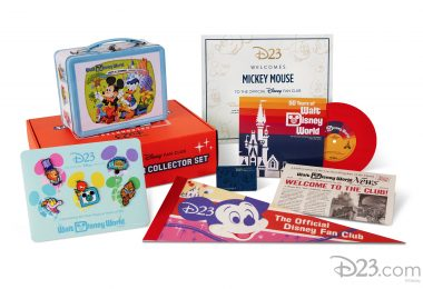 2021 D23 Gold Member Collector Set