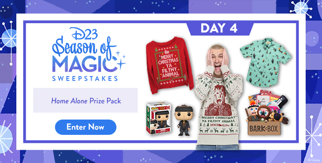 D23 Season of Magic Sweepstakes - Home Alone Prize Pack - ENTER NOW