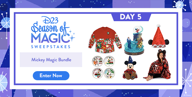 D23 Season of Magic Sweepstakes - Mickey Magic Bundle - ENTER NOW