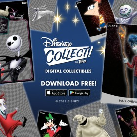 Ring in the New Year with this motion FIREWORKS series from Disney Collect!