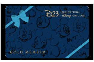 Gold Gift Member Card