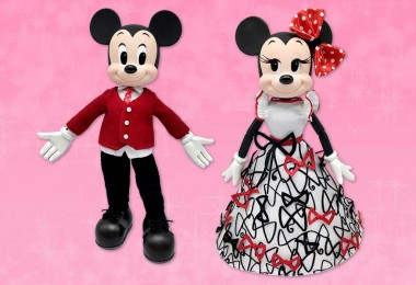 Mickey & Minnie Mouse Limited-Edition Valentine's Day Doll Set—D23 Gold Member Early Access Pre-Order