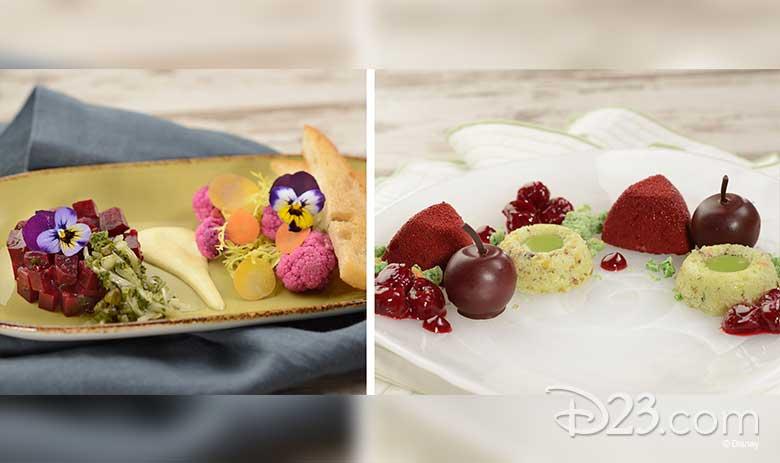 Pistachio Cake with Cherry Mousse and Morello Cherries