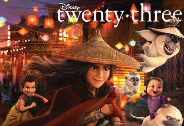 Just Announced: Raya and the Last Dragon Soars onto the New Cover of Disney twenty-three