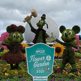 Everything You Need to Know About the 2021 Taste of EPCOT International Flower & Garden Festival