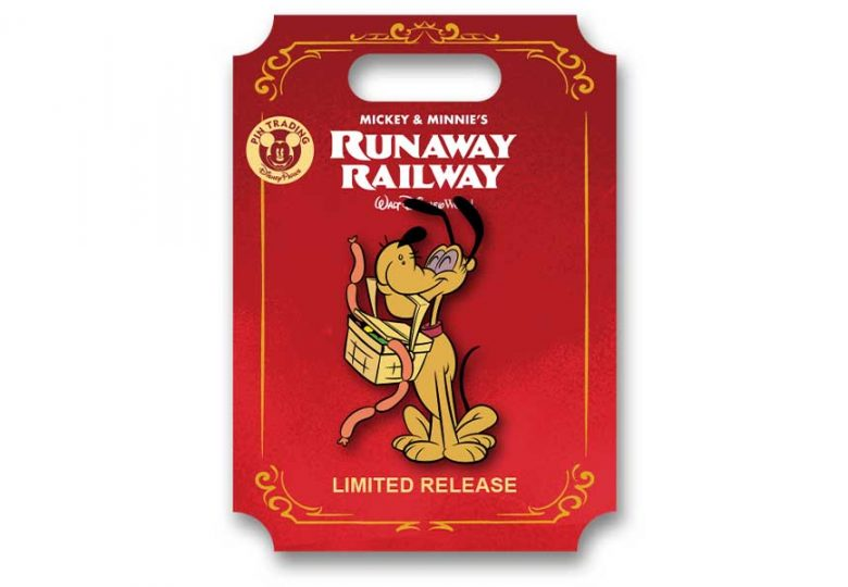 D23 Exclusive Mickey & Minnie's Runaway Railway Pin from BoxLunch!