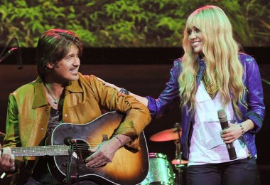 Billy Ray and Hannah Montana